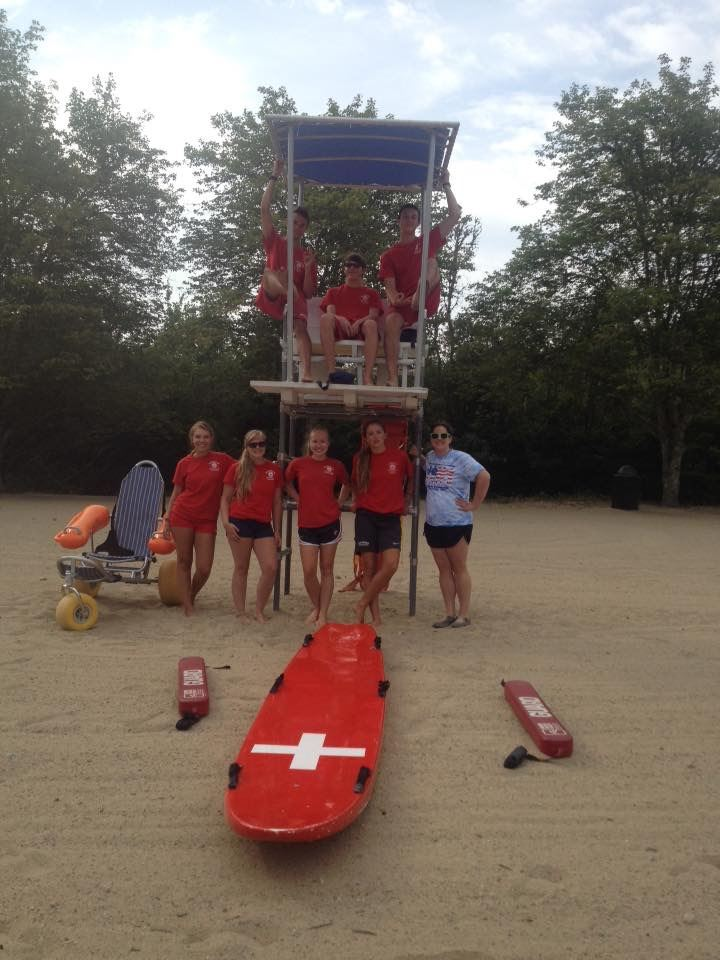 lifeguard staff