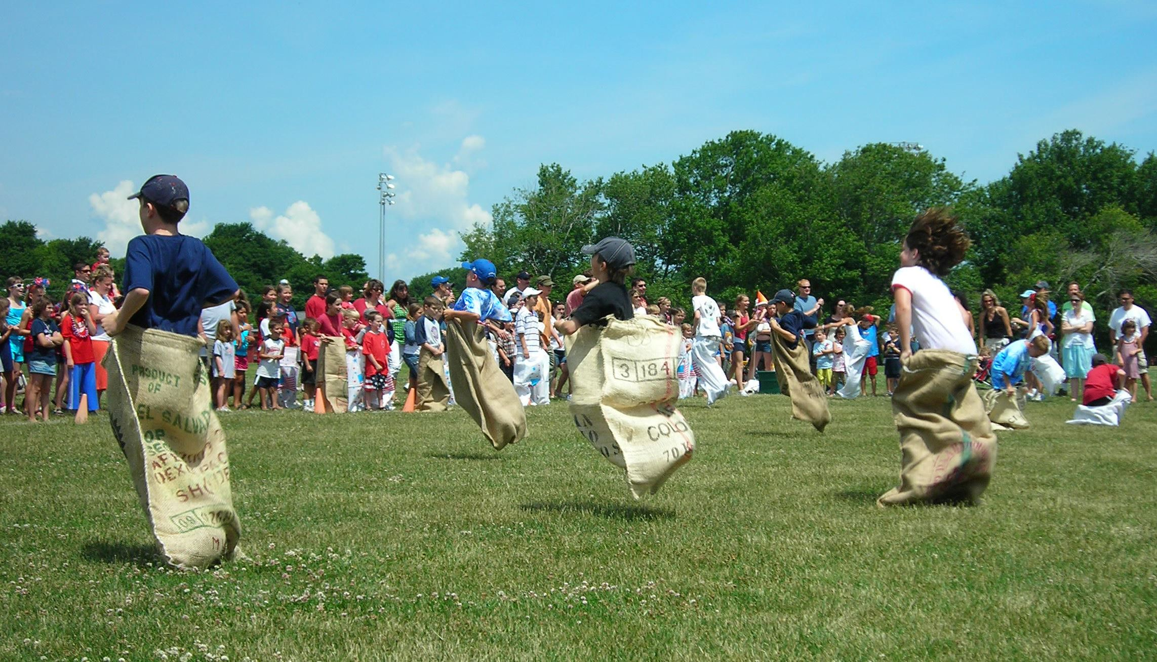 Rec Potato Sack Race Picture