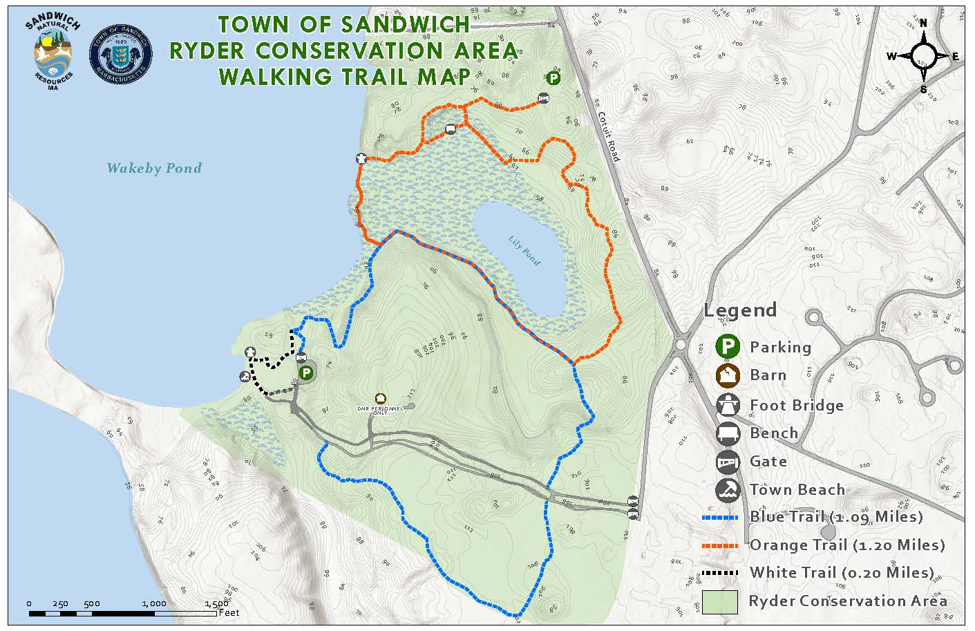 Ryder Conservation Map Image