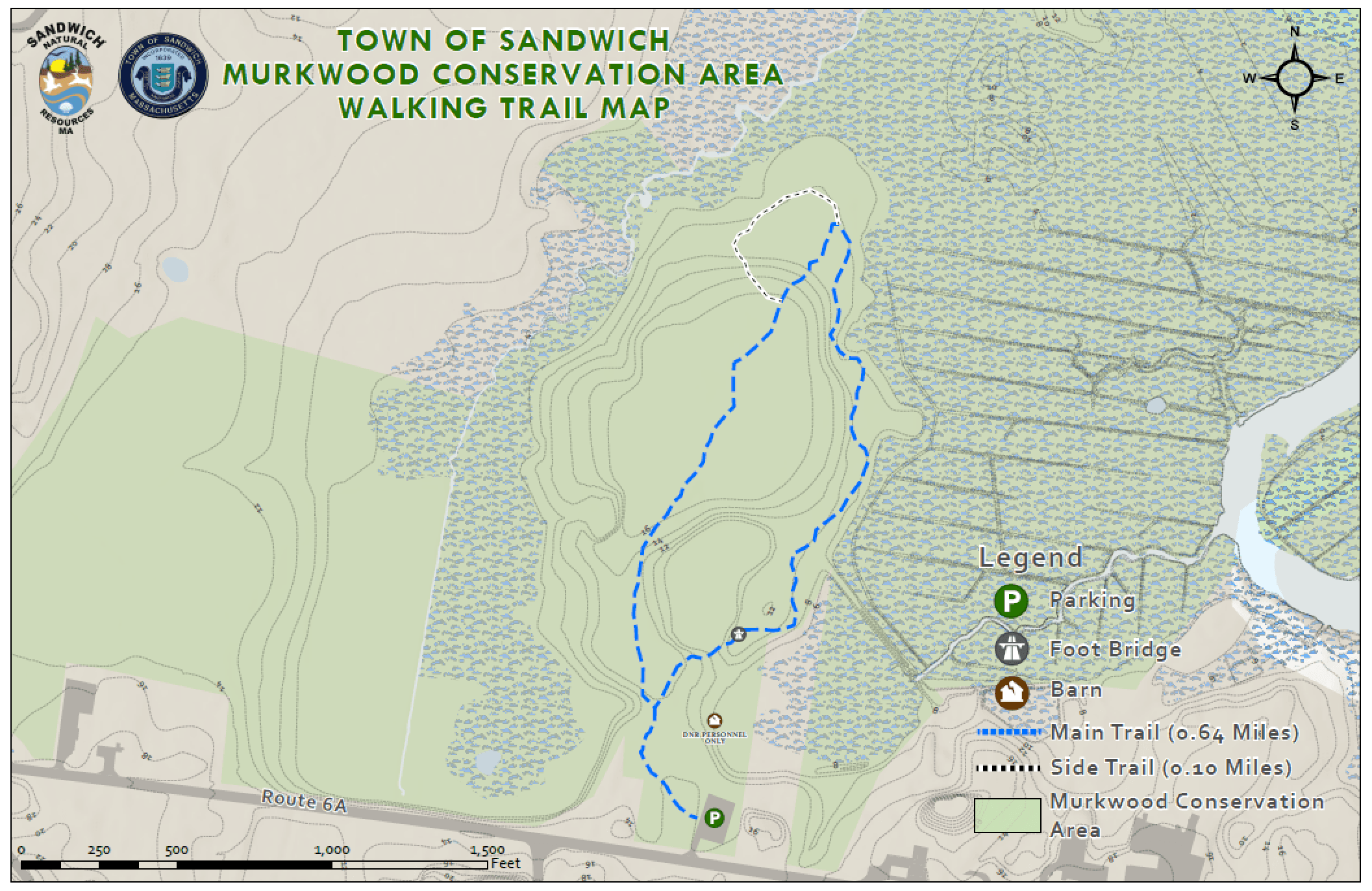 Murkwood Trail Map