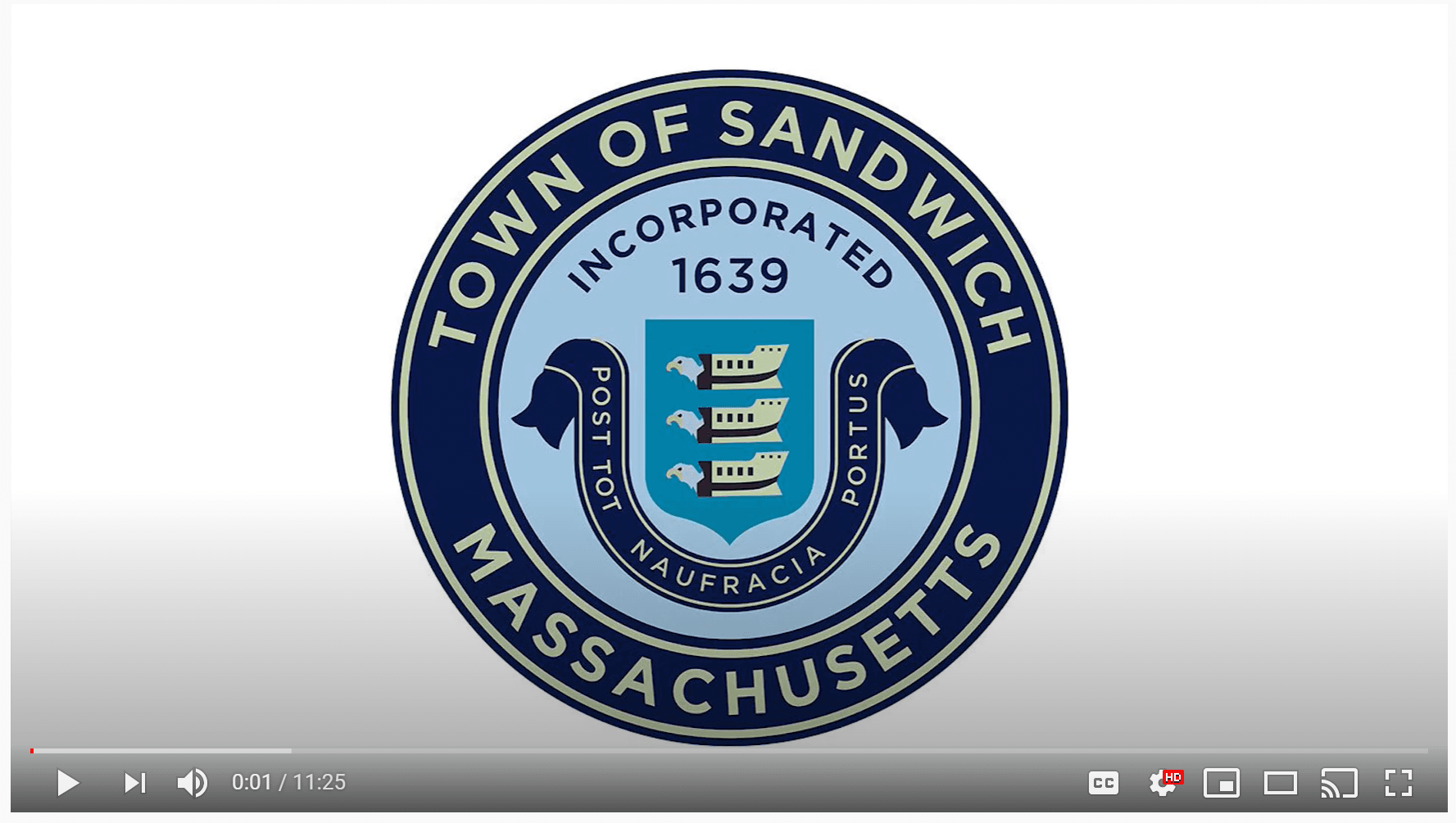 Town of Sandwich Seal