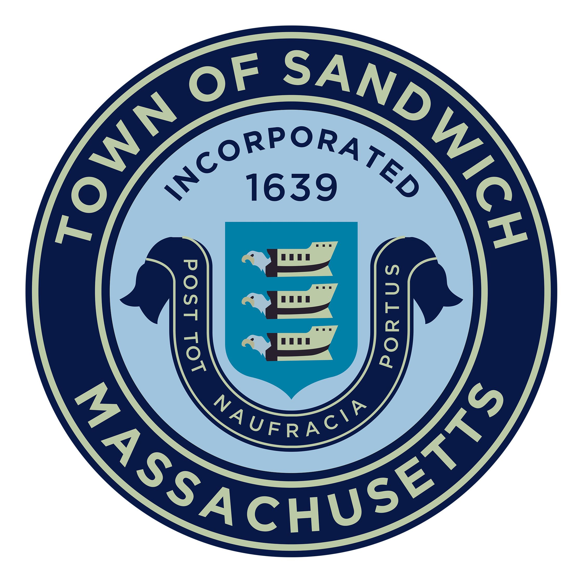 Sandwich Town Seal Large