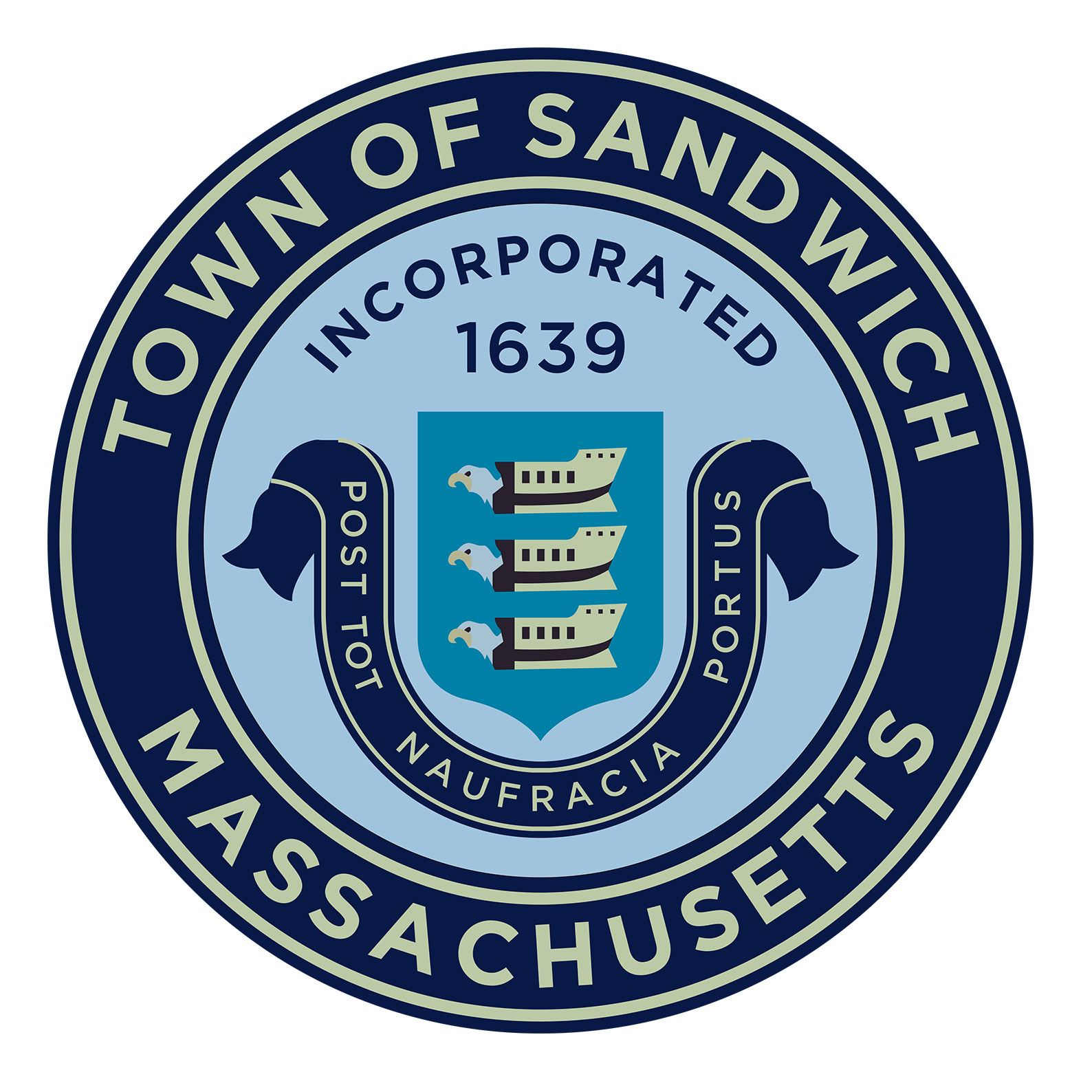 Sandwich Town Seal Medium